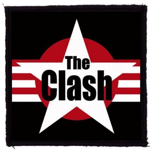 The Clash - Star Logo felvarró