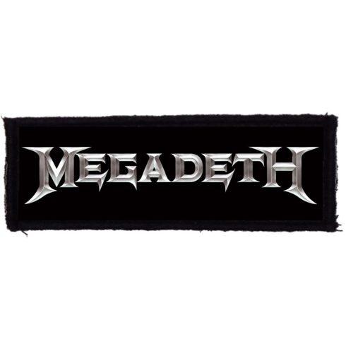Megadeth - Logo felvarró