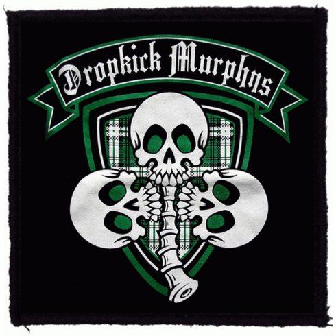Dropkick Murphys - 3 Skulls felvarró