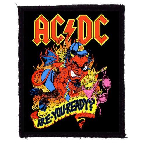 AC/DC - Are You Ready felvarró