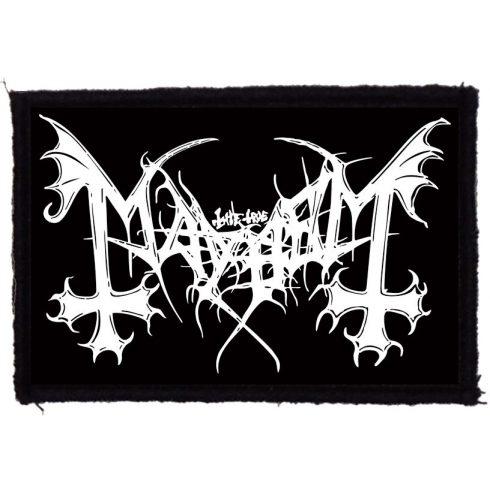 Mayhem - Logo felvarró