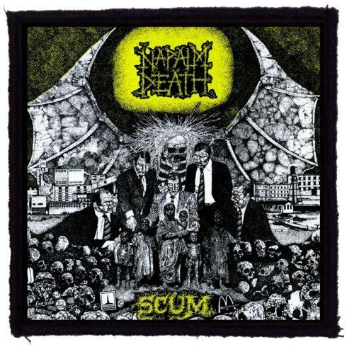 Napalm Death - Scum felvarró