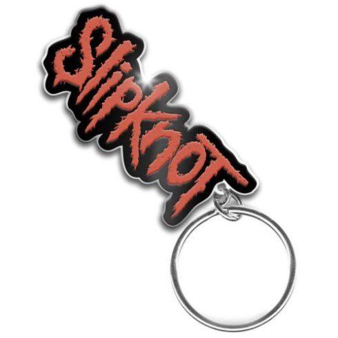Slipknot - Logo fém kulcstartó