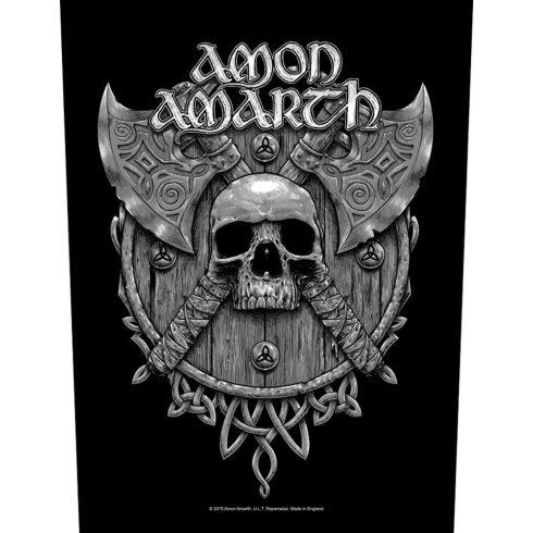 Amon Amarth - Skull & Axe hátfelvarró