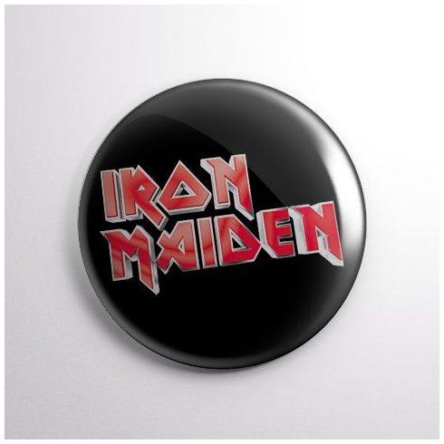 Iron Maiden - Logo kitűző