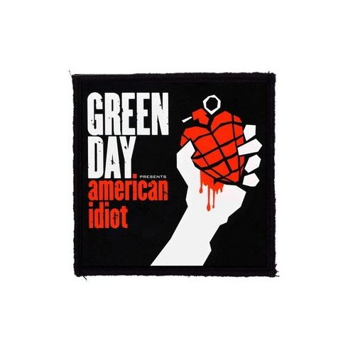 Green Day - American Idiot felvarró