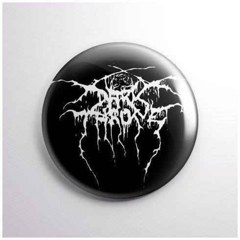 Darkthrone - Logo kitűző