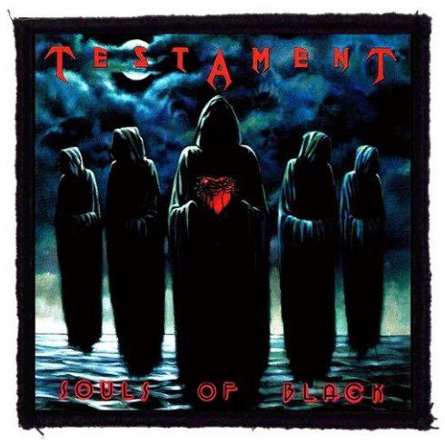 Testament - Souls Of Black felvarró