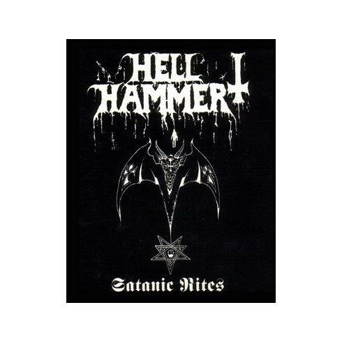 Hellhammer - Satanic Rites felvarró
