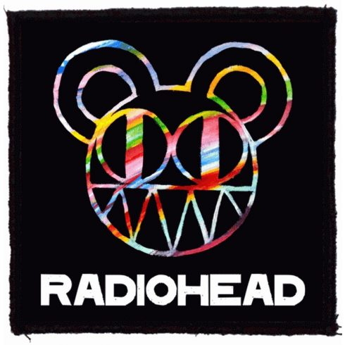 Radiohead - Logo felvarró