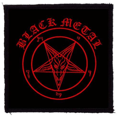 Black Metal felvarró