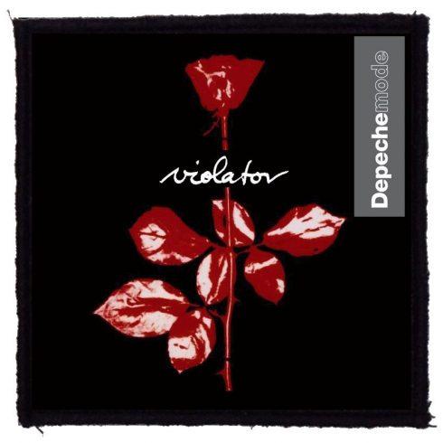 Depeche Mode - Violator felvarró