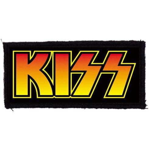 KISS - Logo felvarró