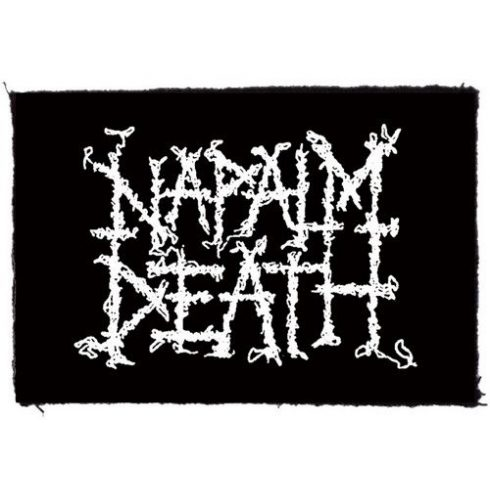 Napalm Death - Logo felvarró