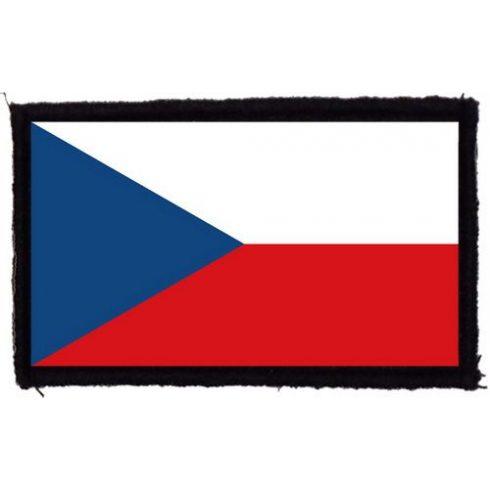 Cseh zászló felvarró