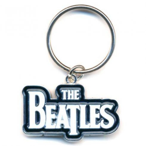 The Beatles - Drop T Logo fém kulcstartó