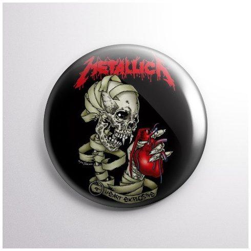 Metallica - Heart kitűző