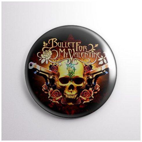 Bullet For My Valentine - Skull kitűző