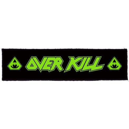 Overkill - Logo felvarró