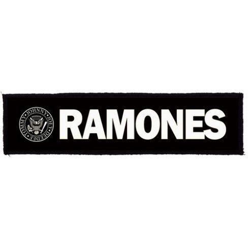 Ramones - Logo Superstrip felvarró
