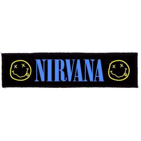Nirvana - Logo Superstrip felvarró