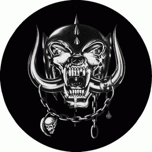 Motorhead - Warpig Circle felvarró