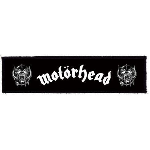 Motorhead - Logo Superstrip felvarró