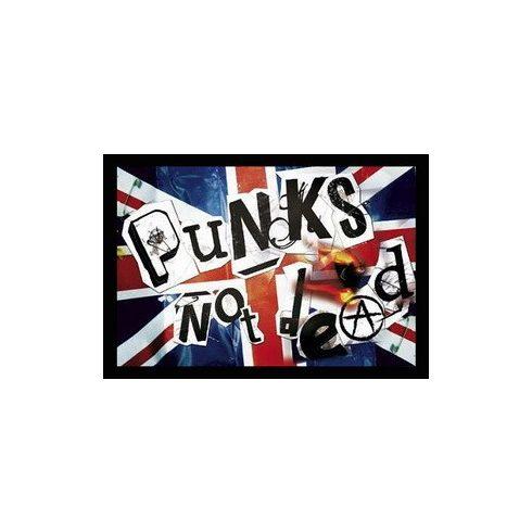 Punks Not Dead - Flag felvarró