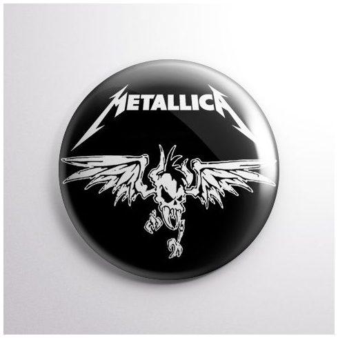 Metallica - Logo kitűző