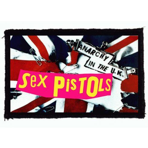 Sex Pistols - Anarchy In The UK felvarró