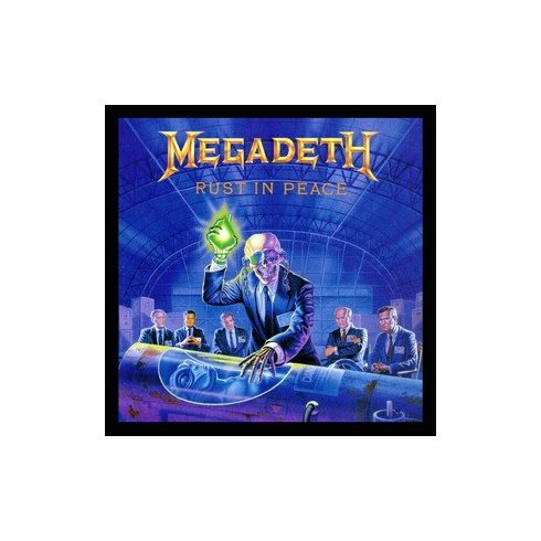 Megadeth - Rust in Peace felvarró