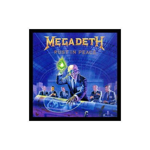 Megadeth - Rust in Peace felvarró