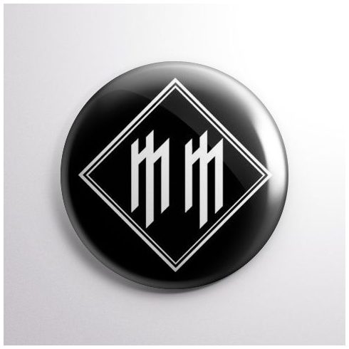 Marilyn Manson - Logo kitűző