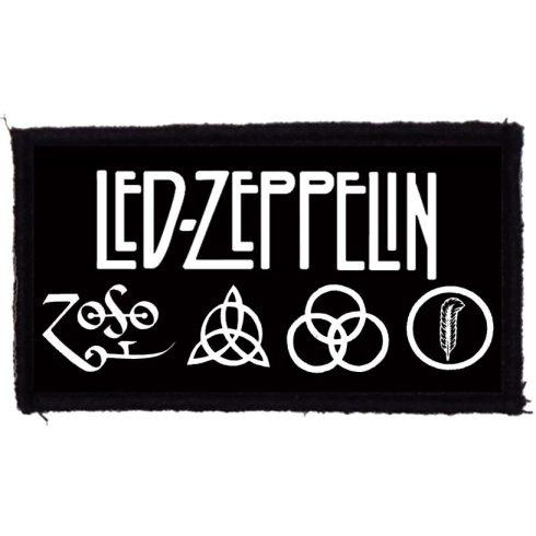 Led Zeppelin - Logo felvarró