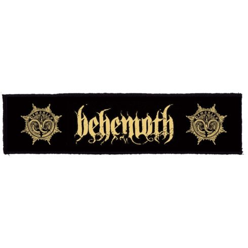 Behemoth - Logo Superstrip felvarró