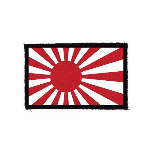 Japán zászló felvarró
