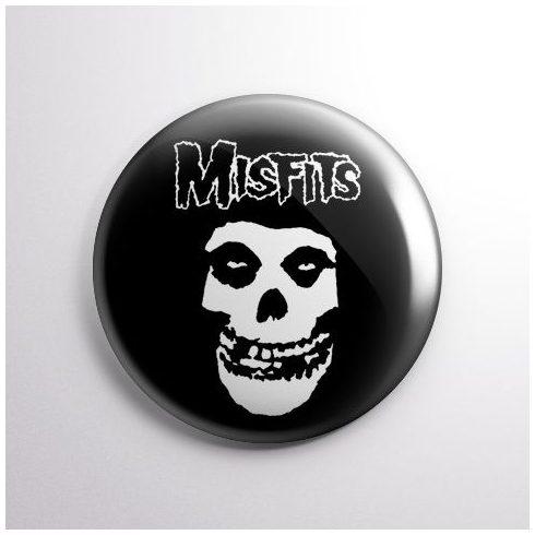 Misfits - Logo kitűző