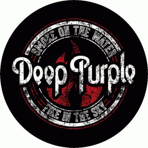 Deep Purple - Smoke On The Water felvarró