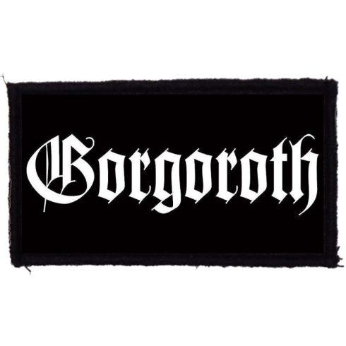 Gorgoroth - Logo felvarró