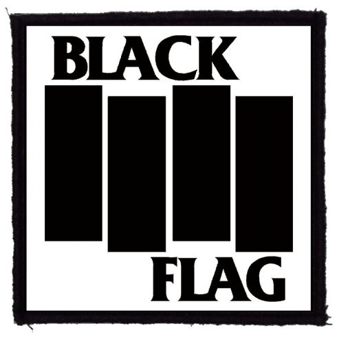 Black Flag - Logo felvarró