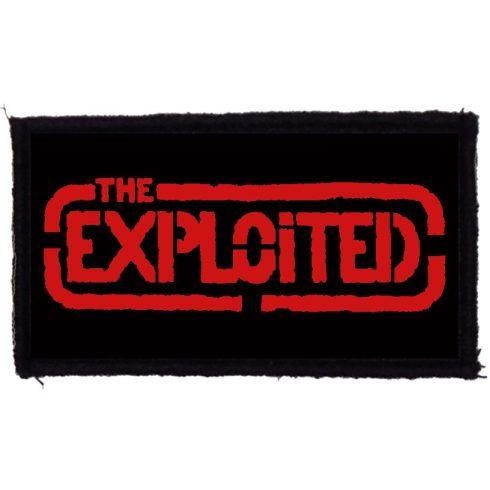 Exploited - Logo felvarró