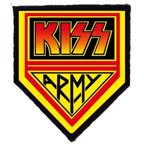 KISS - KISS Army felvarró