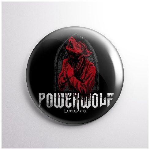 Powerwolf - Lupus kitűző