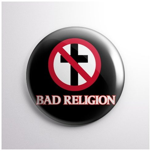 Bad Religion kitűző