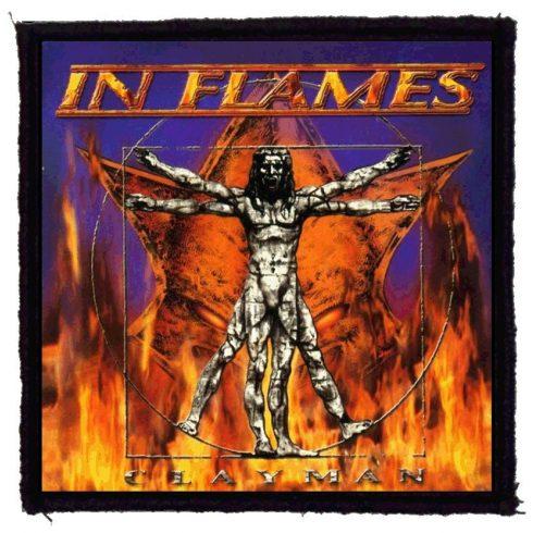 In Flames - Clayman felvarró