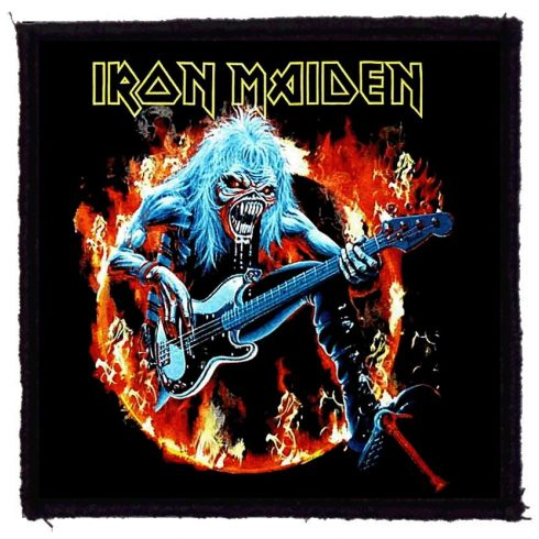 Iron Maiden - Fear Flames felvarró