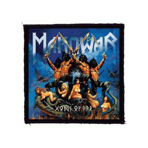 Manowar - Gods Of War felvarró