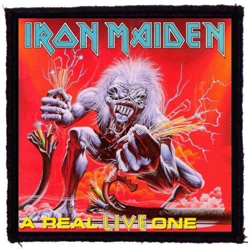Iron Maiden - A real Live felvarró