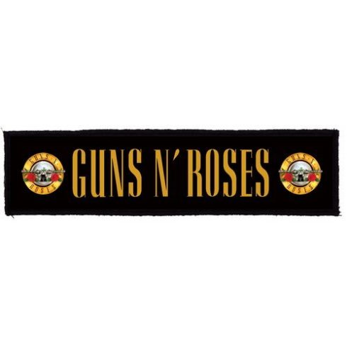 Guns N Roses - Logo Superstrip felvarró