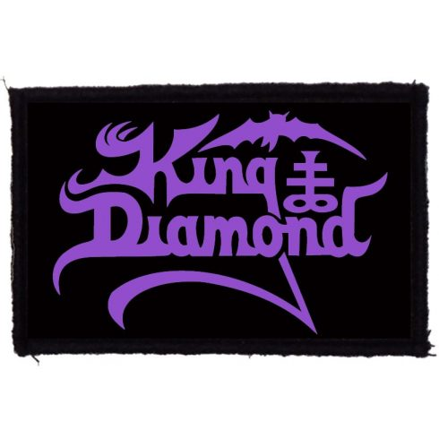 King Diamond - Logo felvarró